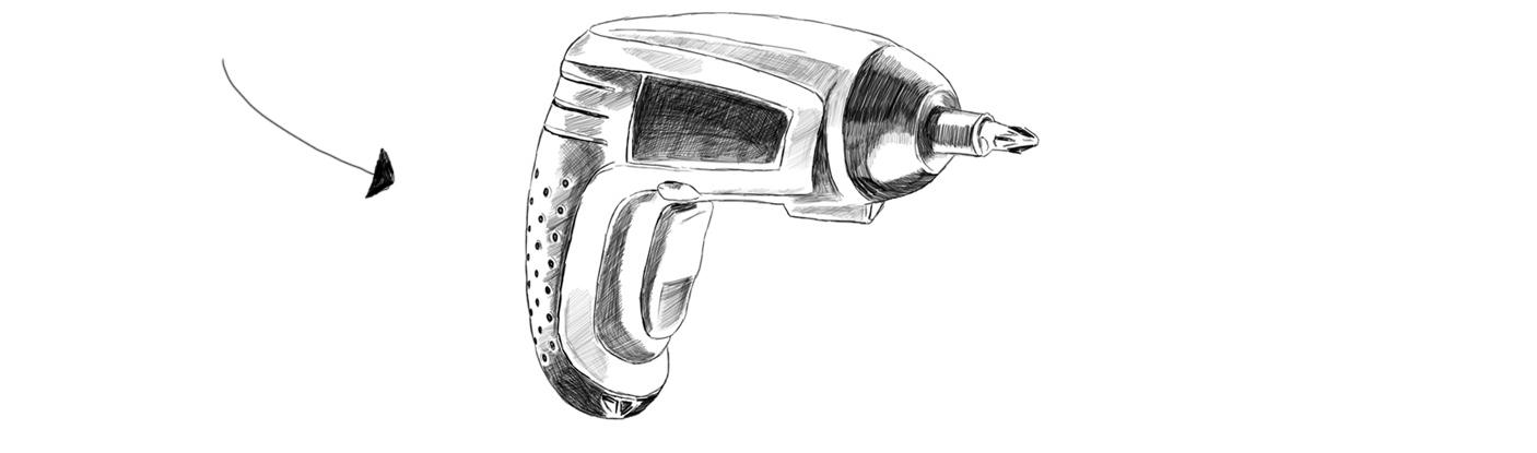 Akkuschrauber- kleinen Hocker selber bauen - Kleine Geschichte