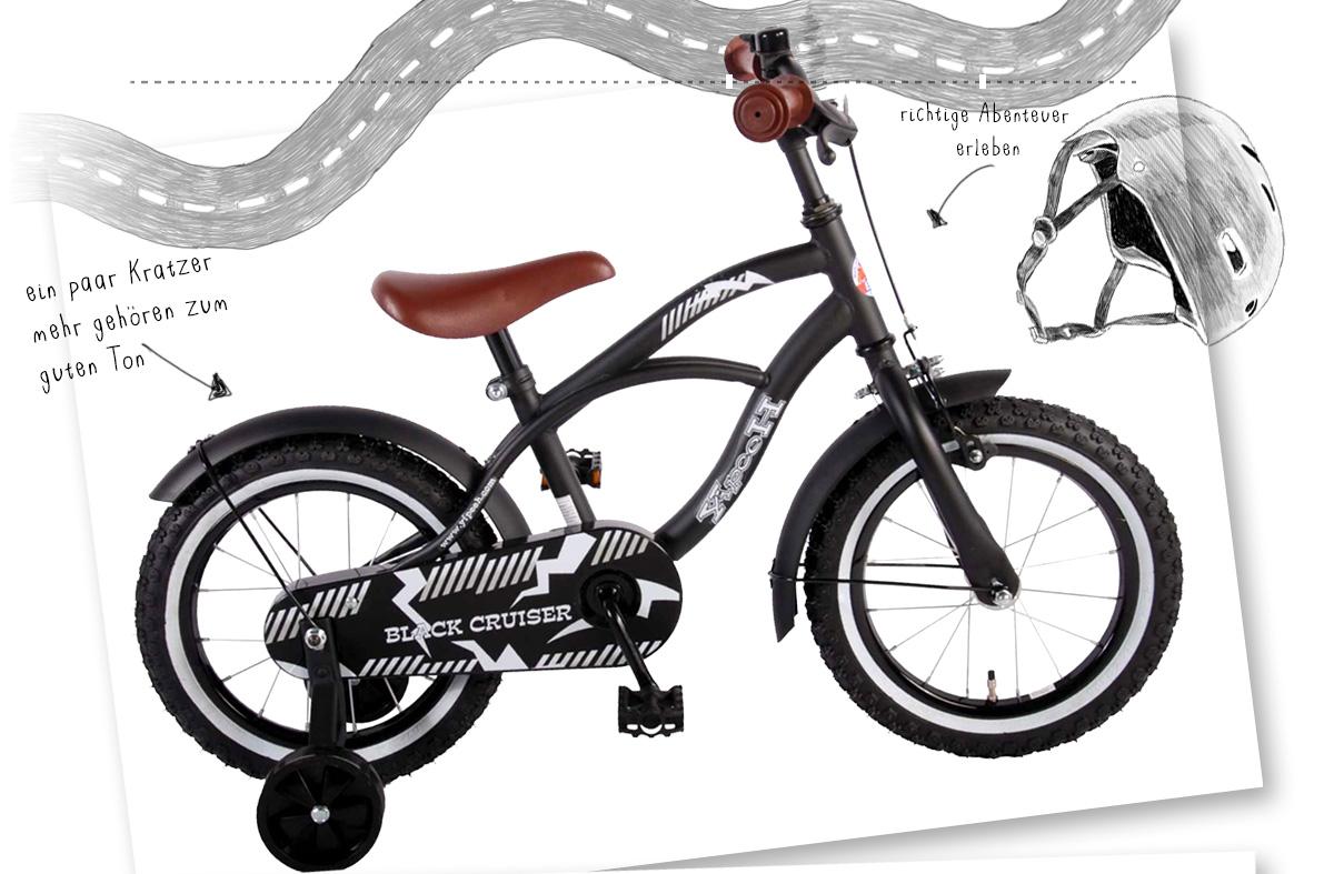 Das erste Fahrrad - welches Fahrrad ist das richtige - Kinder - kleine Geschichte