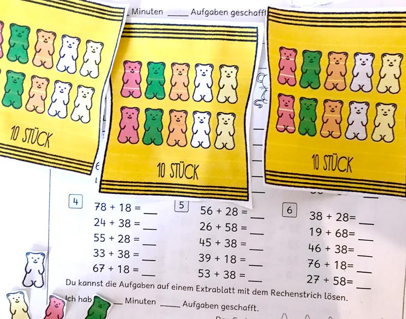 Gummibaerchenspiel-Mathe-lernen-Rechnen-lernen-Grundschule-Lernen-mit-Kindern-Homeschooling-mit-Zehnern-rechnen-spielerisch-kernen-Kleine-Geschichten-04