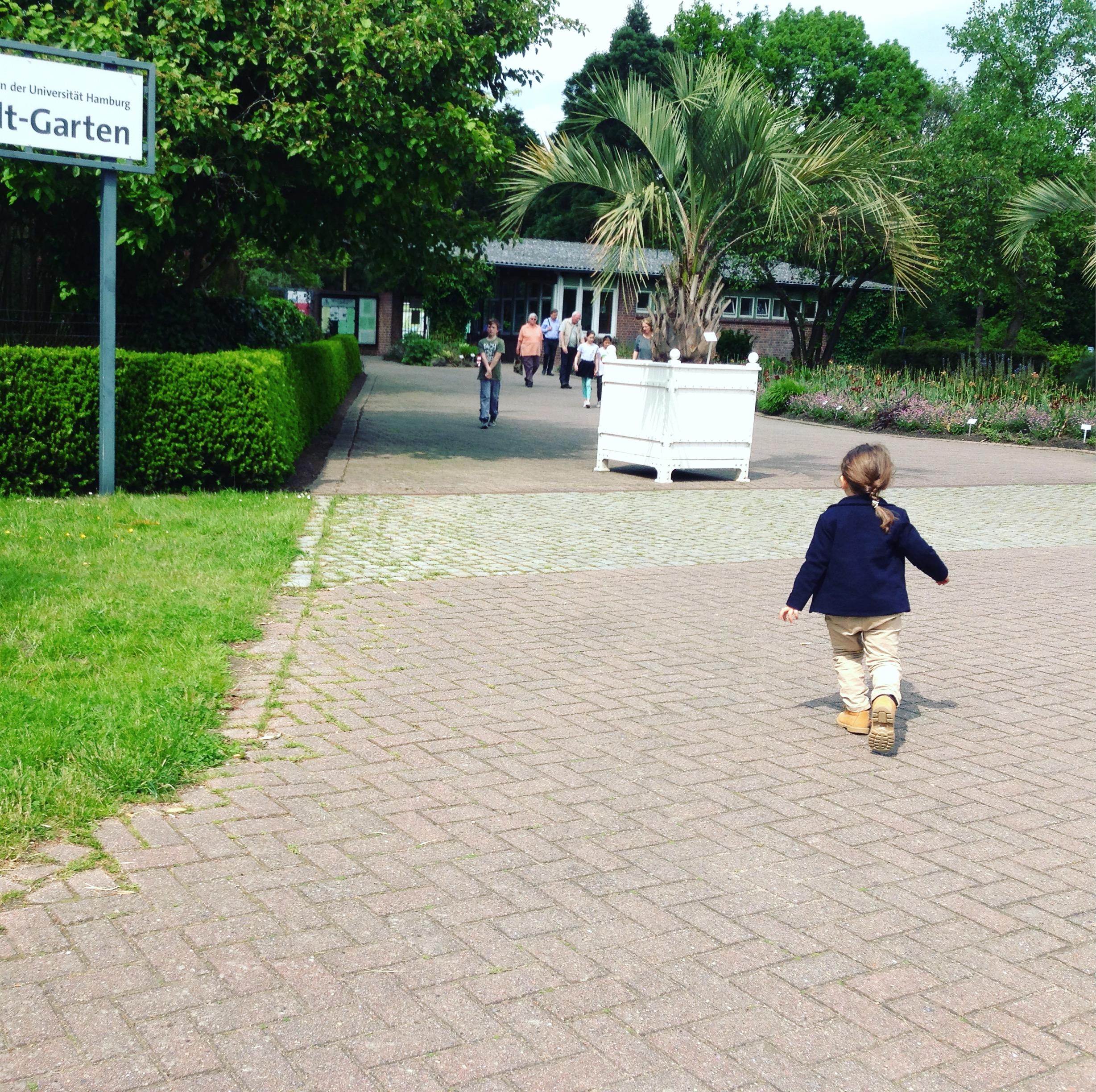 Ausflüge mit Kindern in Hamburg - Botanischer Garten in Klein Flottbek