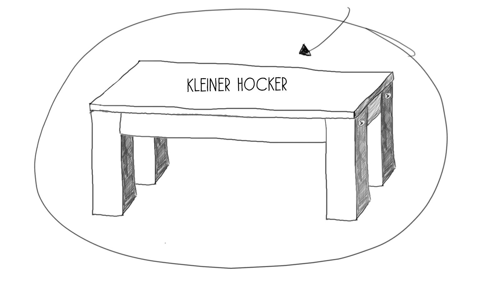 Kinderhocker - Kindertritt - selber bauen - Bauanleitung kleiner Hocker - kleine Geschichte