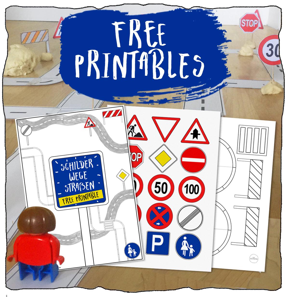 KleineGeschichten-strassenschilder-verkehrsschilder-lernen-spielen-Basteln-mit-Knete-free-printables