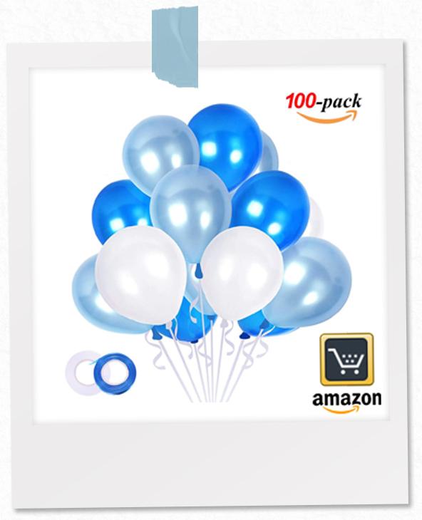 Luftballons-blau