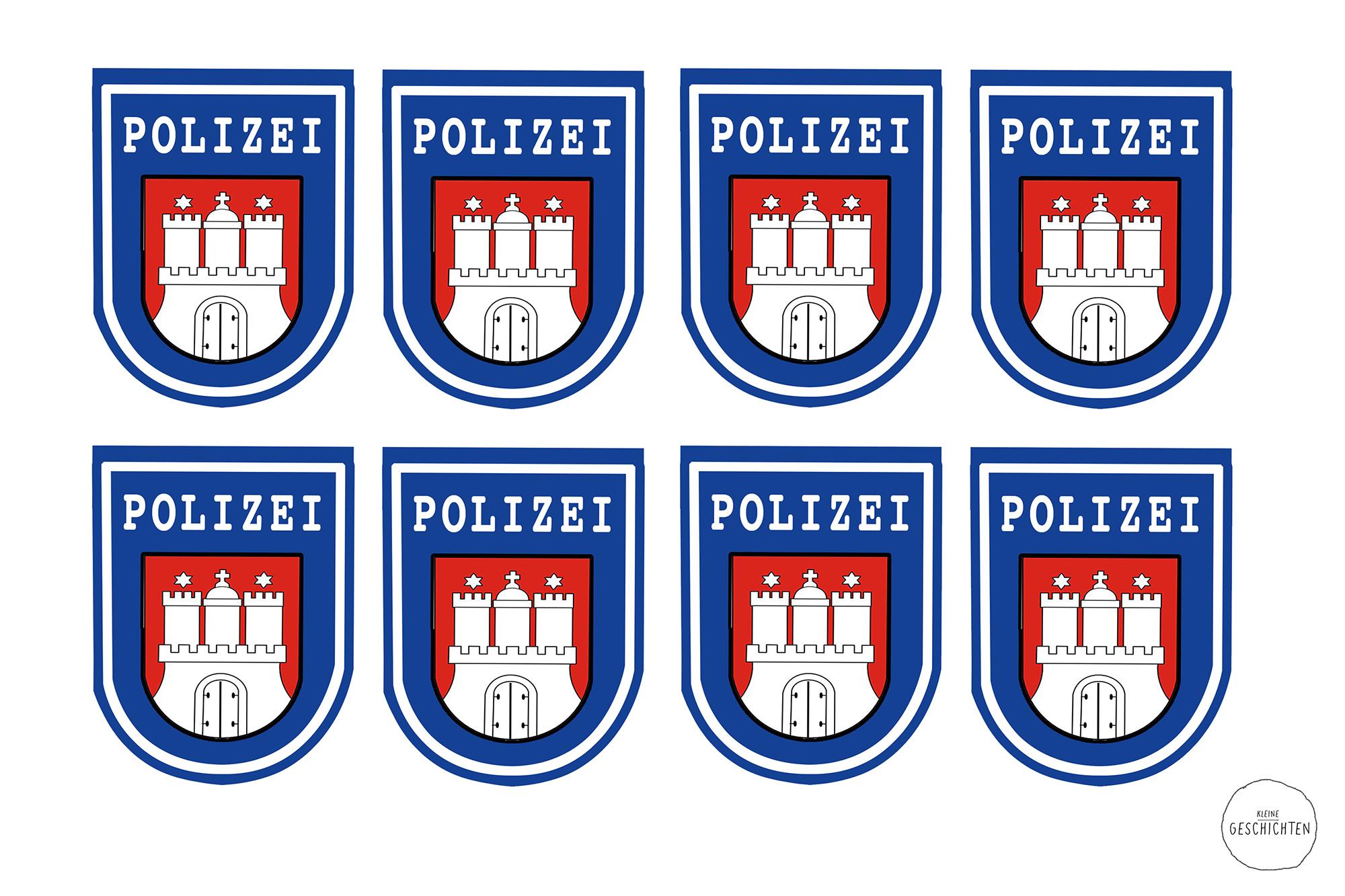 Kleine Geschichten - Polizei Party für Kinder - Kindergeburtstag - Spieleideen - Jungen Geburtstags Party