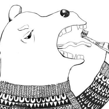 Zahnputzbaer-kleine-Geschichte- Zähne putzen - Tricks - Kinderks