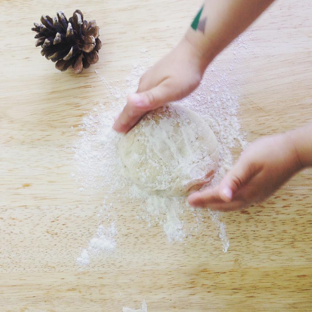 mit Kindern selber Brötchen backen Sonntagsbrötchen selber machen - die besten Kinderrezepte - gesund - lecker -schnell