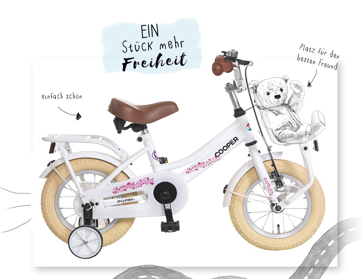 Welches Fahrrad ist das Richtige für kleine Kinder - das erste Fahrrad- Kleine Geschichten