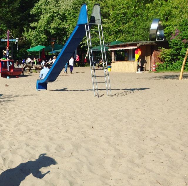 Der schönste Spielplatz Hamburgs am Elbecamp