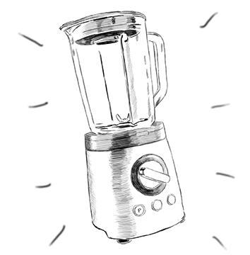 Fruchtschnitten selber machen - welchen Mixer für zu Hause