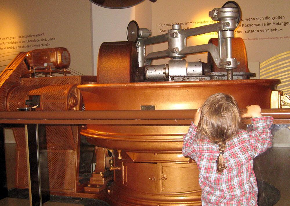 Schokoladenmuseum Hamburg - Ausflüge mit Kindern in Hamburg bei Regenwetter