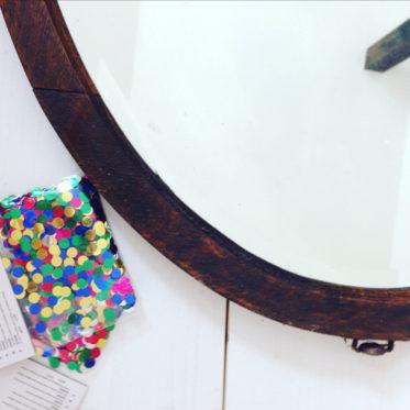 Alter Spigel wird zu einem Prinzessinnen Spiegel - aus alt mach neu - DIY Spiegel